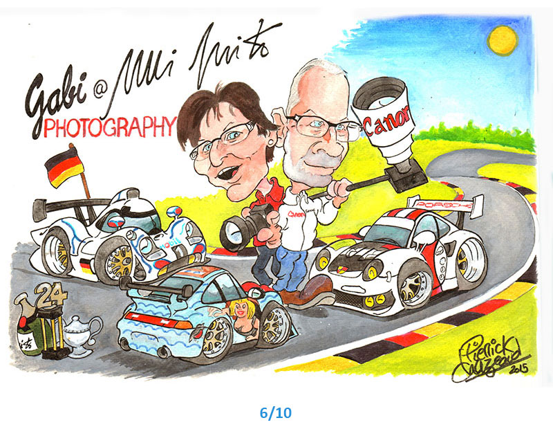 dessins porsche Pierrick Chazeaud