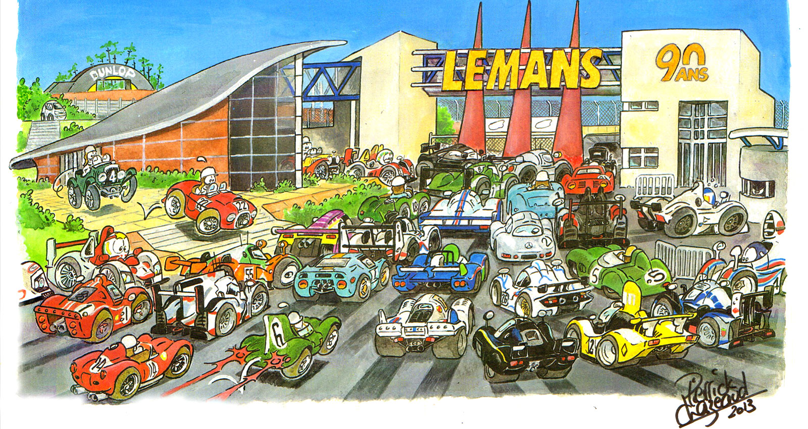 illustrations 24H du Mans Pierrick Chazeaud